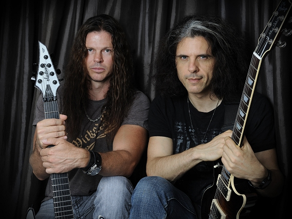 Chris Broderick (Megadeth) and Alex Skolnick (Testament)