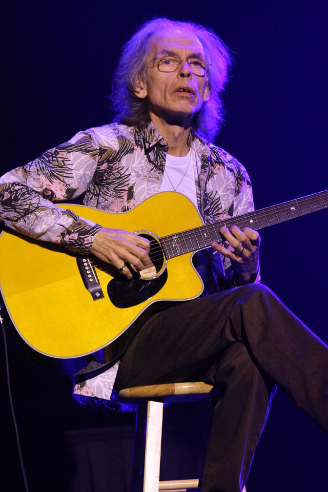 Steve Howe, of Yes, Asia, GTR