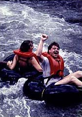 Tubing the Esopus River outside of Phoenicia