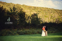 Catskill Mountain Wedding -mountain & field