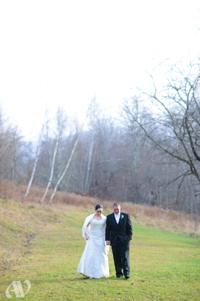 Late Fall Wedding at Full Moon Resort-outdoor walk
