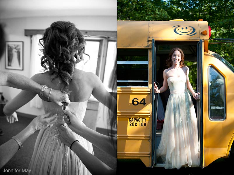 Catskill Mountain Wedding -wedding gown