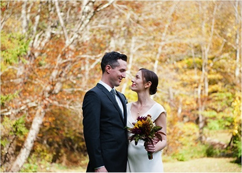 Catskill Mountain Wedding- flower bouquet
