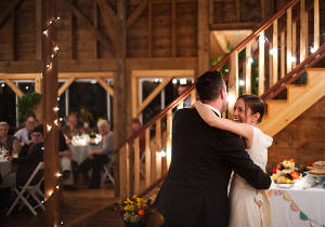 Barn Wedding Dance at Full Moon Resort