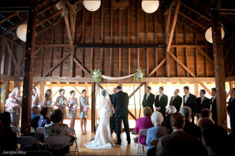 Catskill Mountain Wedding at Full Moon Resort- barn wedding!