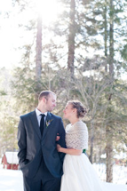 Winter Wedding at Full Moon Resort- outdoors glance
