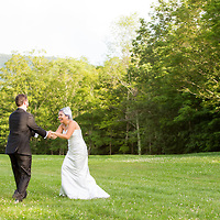 Early Summer Wedding- Playing in the meadow grass