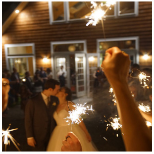 Sparklers and new Pavilion