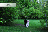 walk in the field-Catskill Mountain Wedding