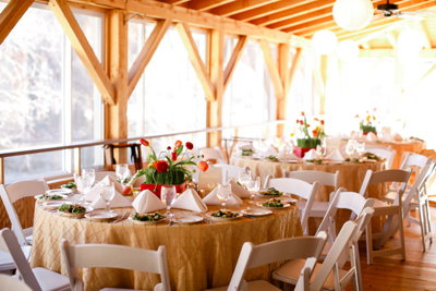 Wedding Table Layout Barn